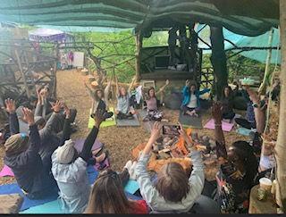 Summer Solstice yoga and meditation