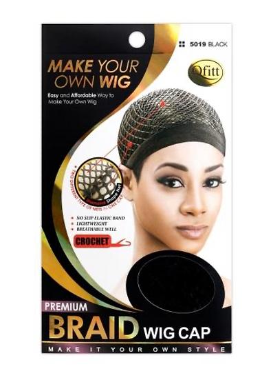 QFitt 5019 Premium Braid Wig Cap