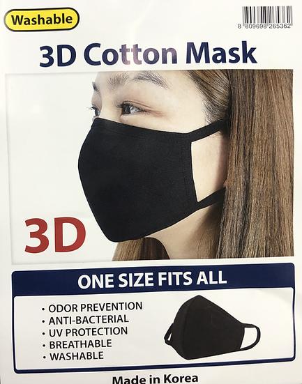 3D Cotton Mask