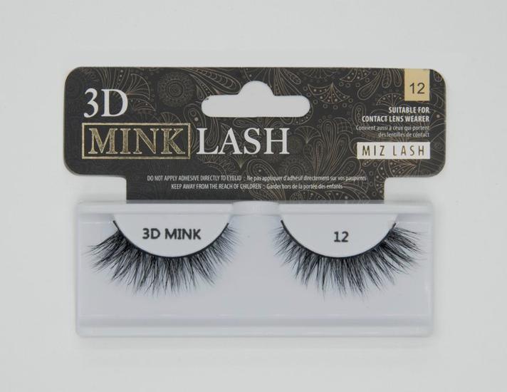 3D Mink Lash #12