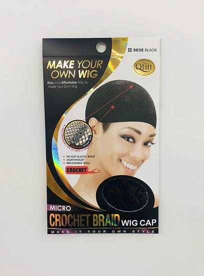 QFitt 5032 Micro Crochet Braid Wig Cap