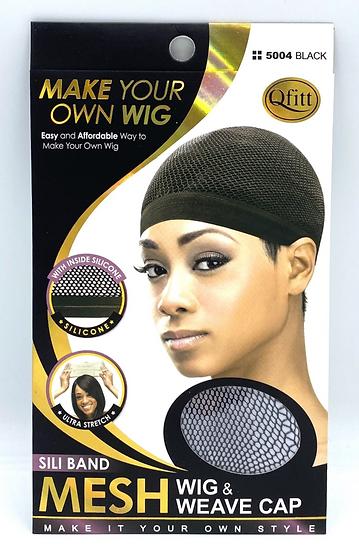 QFitt 5004 Sili Band Mesh Wig & Weave Cap