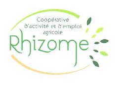 Logo de la CAE Rhizome