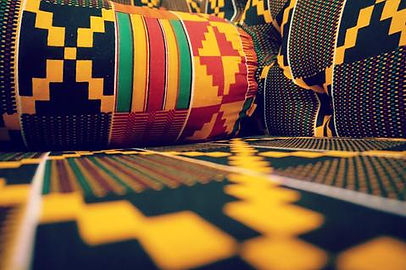 Afrisocks Kente colours