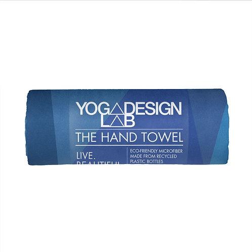 Yoga Hand Towel - Geo Blue