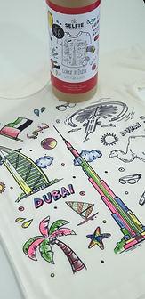 Selfie Clothing Dubai Tshirt