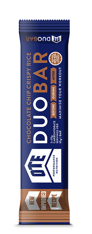 12 x OTE Duo Bar - Chocolate Chip