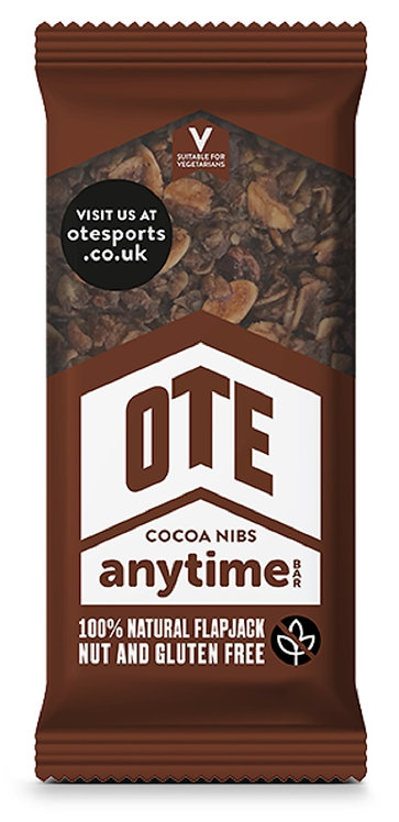16 x OTE Anytime Bar - Cocoa Nibs