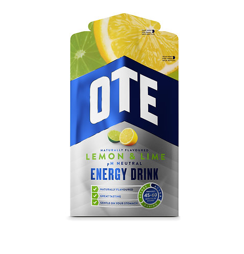 14 x OTE Energy Drink - Lemon & Lime