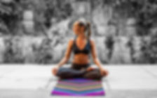 Yoga Design Lab chevron black