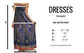 Bohemian Island dress size guide