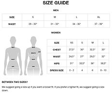 Bamboo Underwear Size Guide