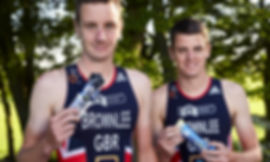 OTE Sports with the Brownlee brothers