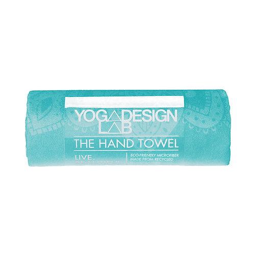 Yoga Hand Towel - Mandala Turquoise