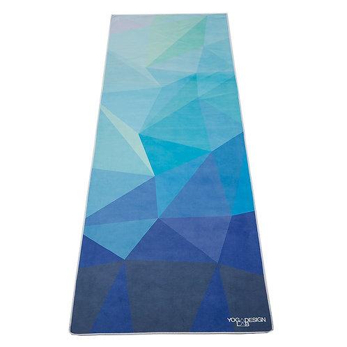 Yoga Mat Towel - Geo Blue