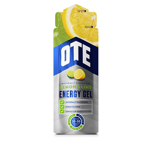 20 x OTE Energy Gel - Lemon & Lime