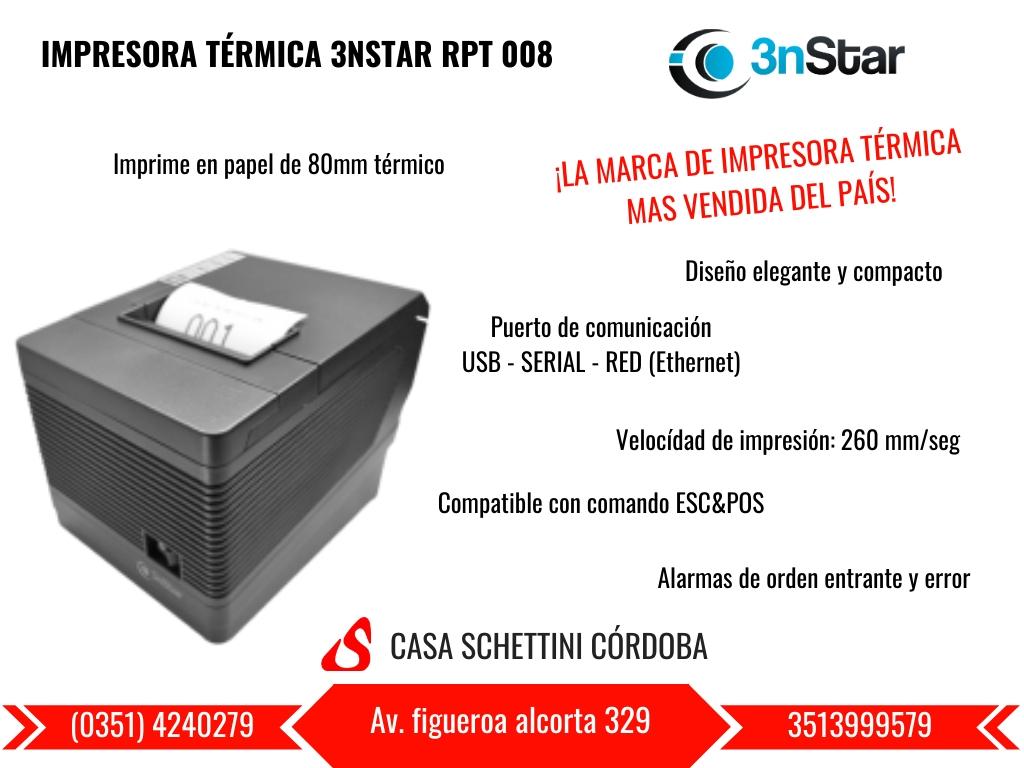 IMPRESORA TERMICA 3NSTAR RPT 008