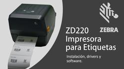 IMPRESORA TÉRMICA DE ETIQUETAS ZEBRA ZD220T