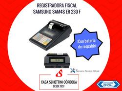 sam4s er 230f Registradora fiscal