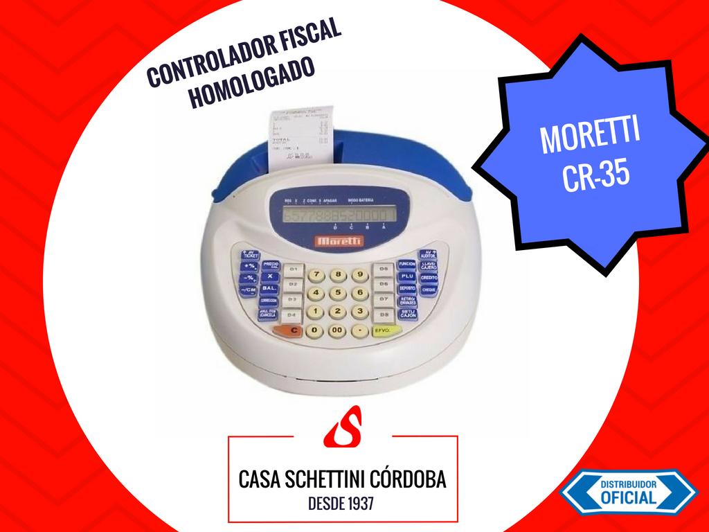 CONTROLADOR FISCAL MORETTI CR35