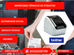 IMPRESORA DE ETIQUETAS BROTHER QL800