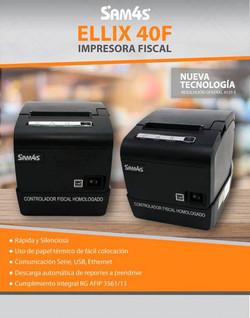 IMPRESORA FISCAL SAM4S ELLIX 40F