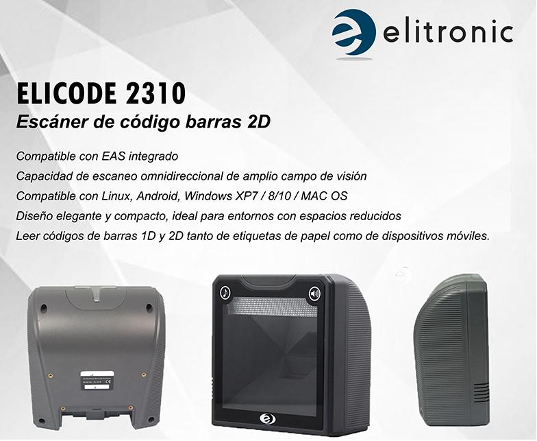 ELICODE XL 2310 LECTOR OMNIDIRECCIONAL