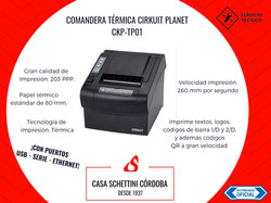 IMPRESORA TERMICA CIRKUIT PLANET 01