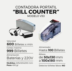 CONTADORA PORTÁTIL V30 + FUNDA