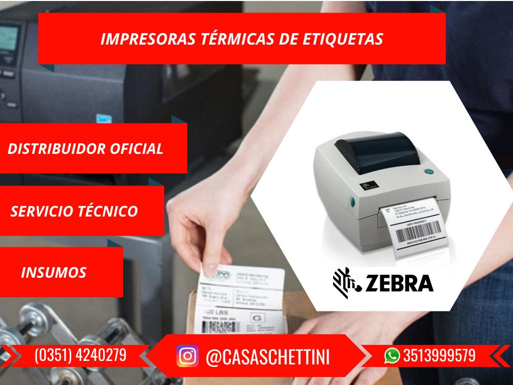 impresora térmica de etiquetas zebra gc4