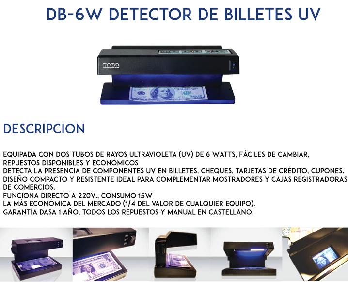 Detector falsos DB-6W