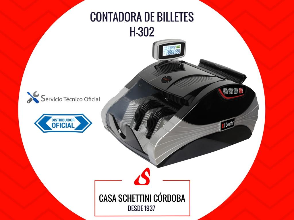 CONTADORA DE BILLETES NAXIDO H-302 UV/MG