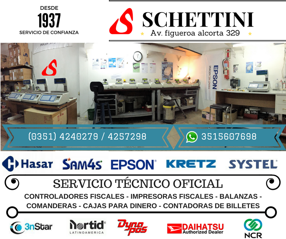SERVICIO TÉCNICO OFICIAL