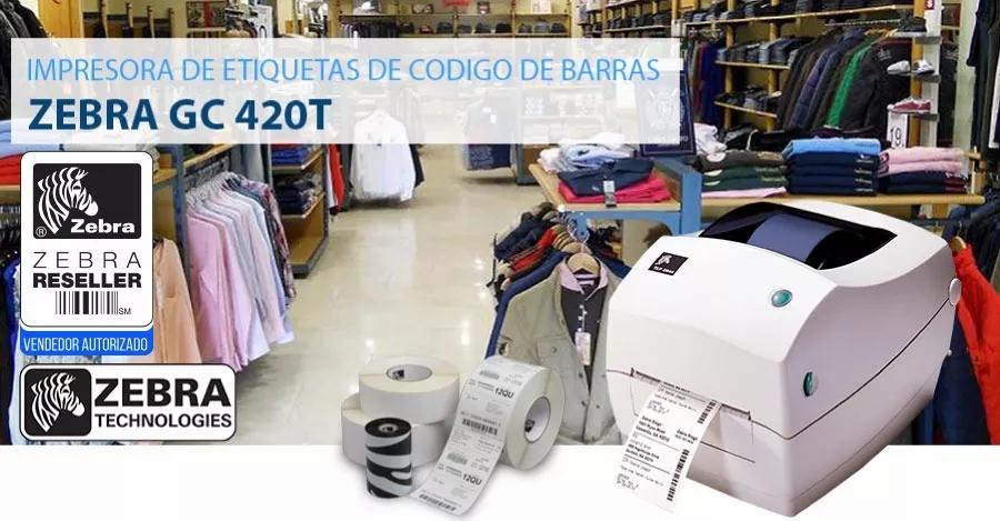IMPRESORA TÉRMICA DE ETIQUETAS ZEBRA GC420TZEBRA GC420T EN CORDOBA 3