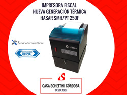 IMPRESORA FISCAL HASAR SMH/PT 250F