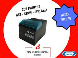 IMPRESORA TERMICA HASAR PHT 250