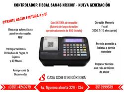 CONTROLADOR FISCAL SAM4S NR330F
