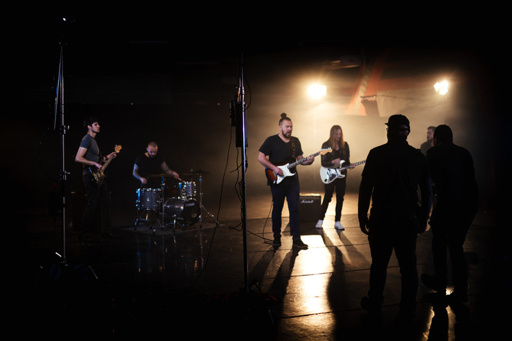 Tian Nienaber Video Shoot BTS by Jannes De Villiers from Moving North Media
