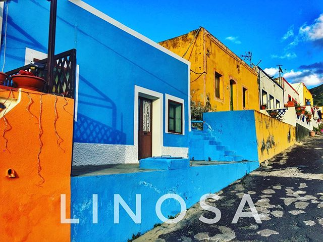 #linosa #island #house #color #street #s