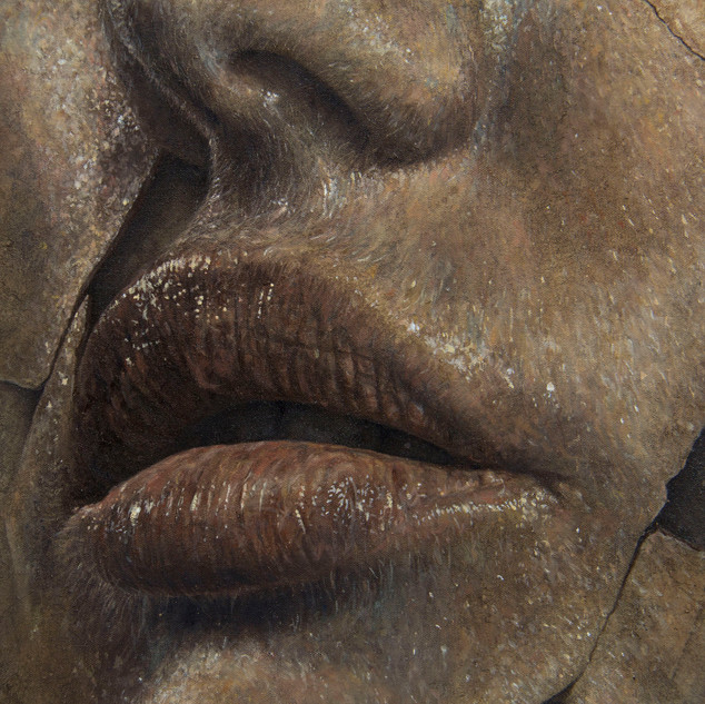 "Detalhe de ""Fragmento Bronze""/ Detail of ""Bronze Fragment"""
