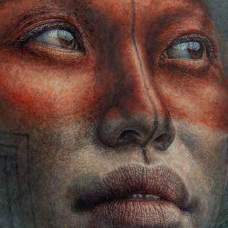 "Detalhe de ""Caiapó""/ Detail of ""Kayapo"""