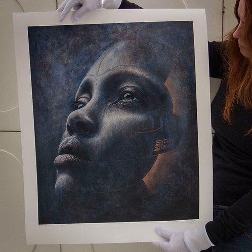 CYBER EVA - Impressão Fine Art