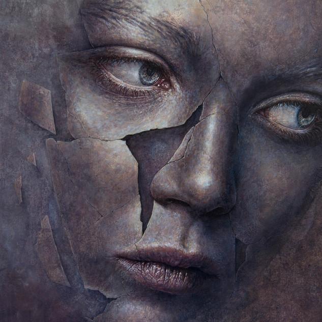 "Detalhe de ""Fragmento Violeta""/ Detail of ""Violet Fragment"""