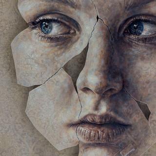 """Detalhe de """"MIMETISMO/ Porcelana""""/ Detail of """"MIMICRY/ Porcelain"""""""