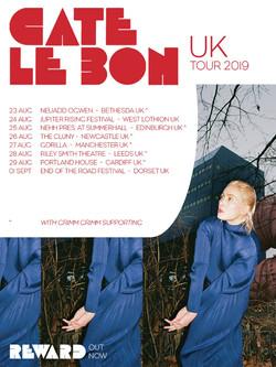 Cate Le Bon UK Tour