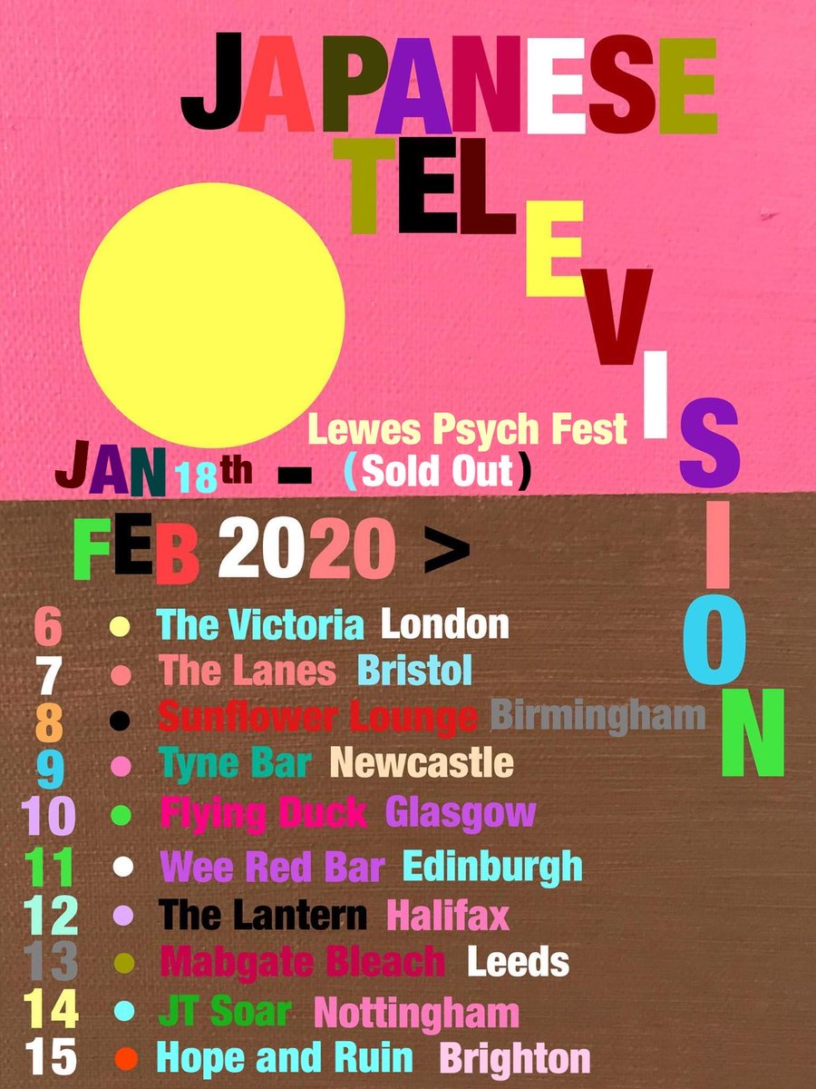 JTV UK Tour
