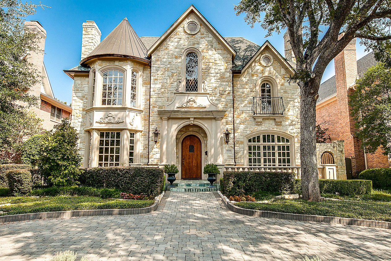 Dallas Luxury Home; Shutterstock_34747396 ...