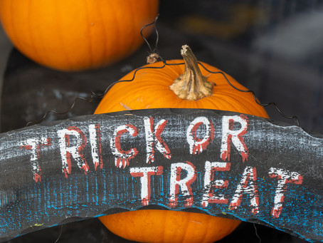 Trick or Treating, in our homes