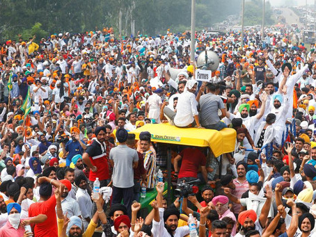 Farm Bills and Farmers' protests post Diwali