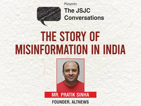 """""""The Spread of Misinformation in India"""" by Pratik Sinha"""
